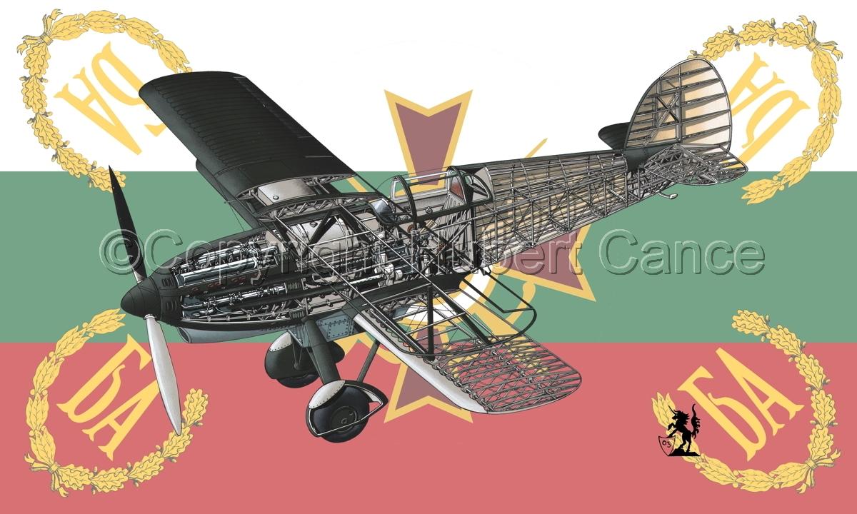 Avia B-534N (Flag #5) (large view)