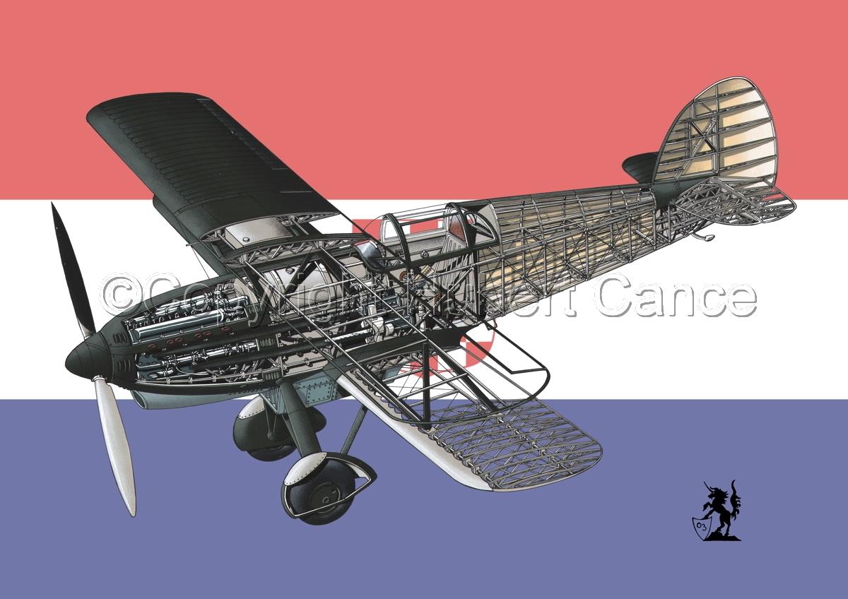 Avia B-534N (Flag #6) (large view)