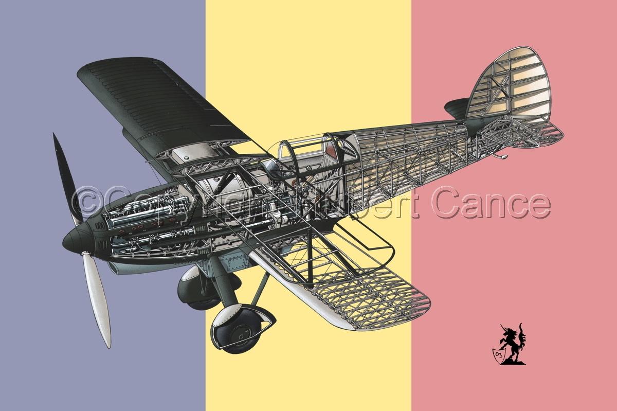 Avia B-534N (Flag #8) (large view)