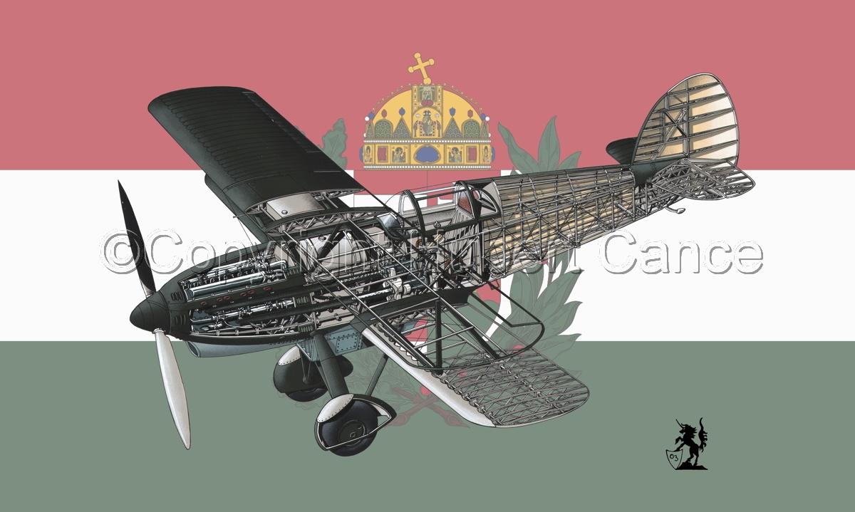 Avia B-534N (Flag #10) (large view)