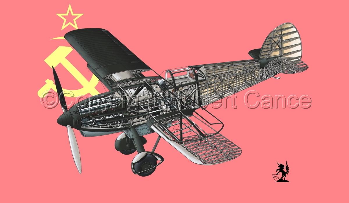 Avia B-534N (Flag #11) (large view)