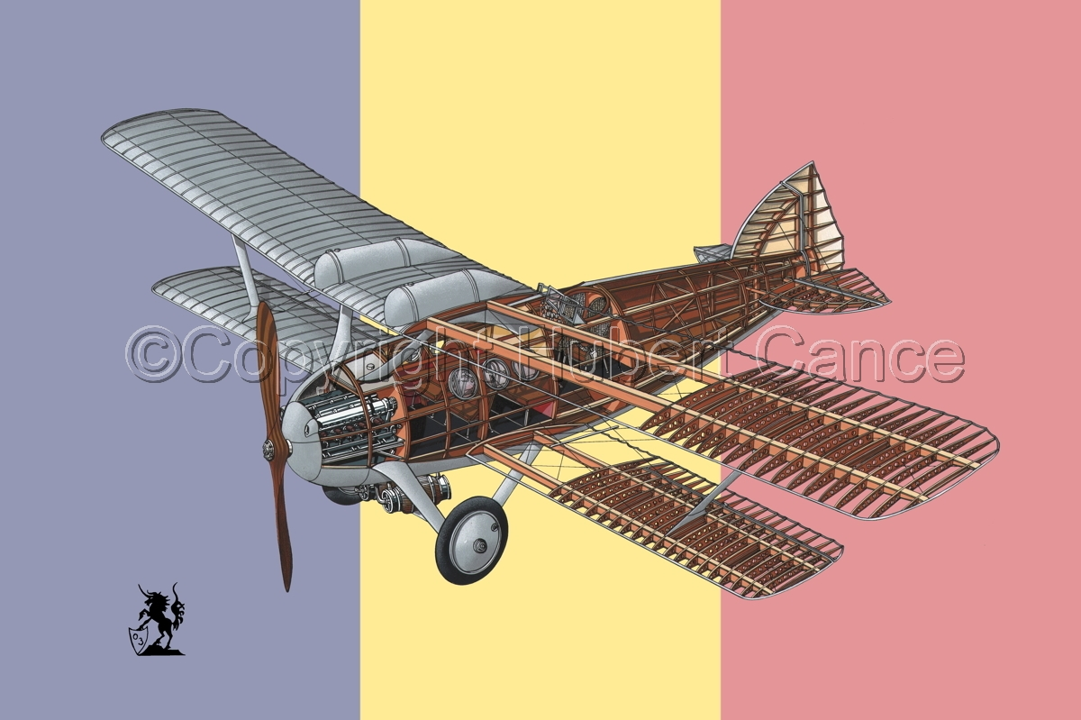 Bleriot-SPAD S.46 (Flag #2) (large view)
