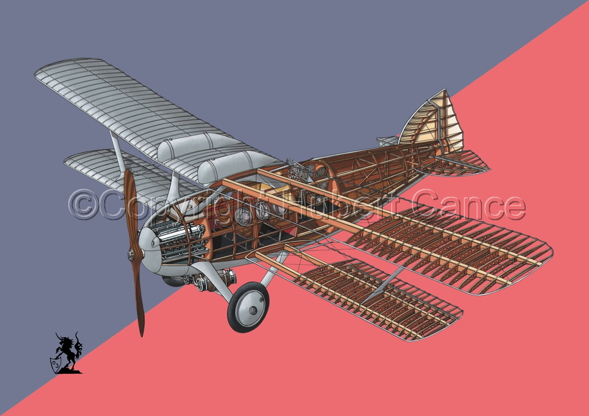 Bleriot-SPAD S.46 (Flag #4) (large view)