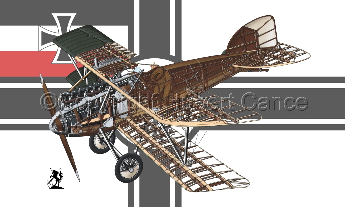 Albatros D.III (Flag #3) (large view)