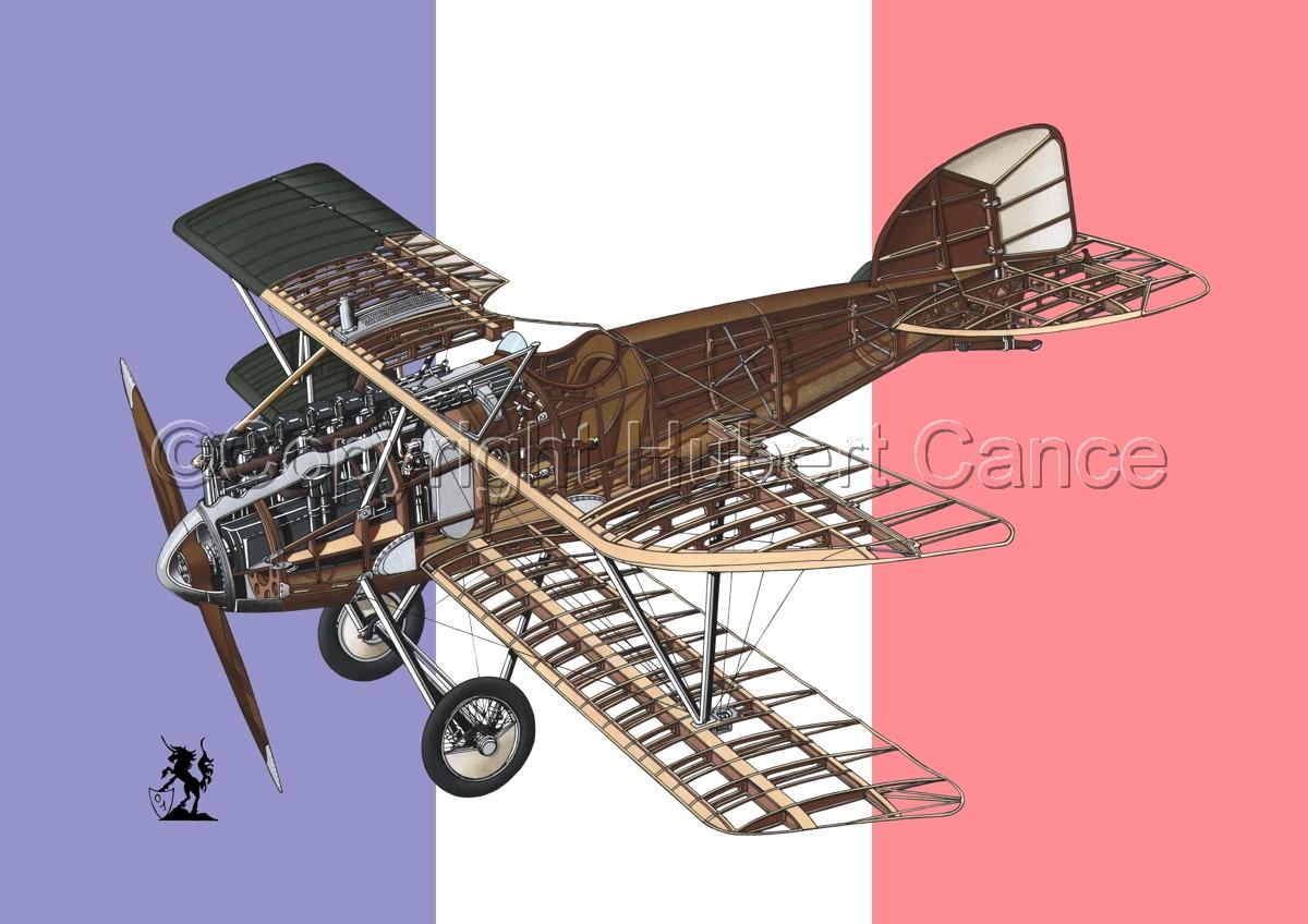 Albatros D.III (Flag #7) (large view)