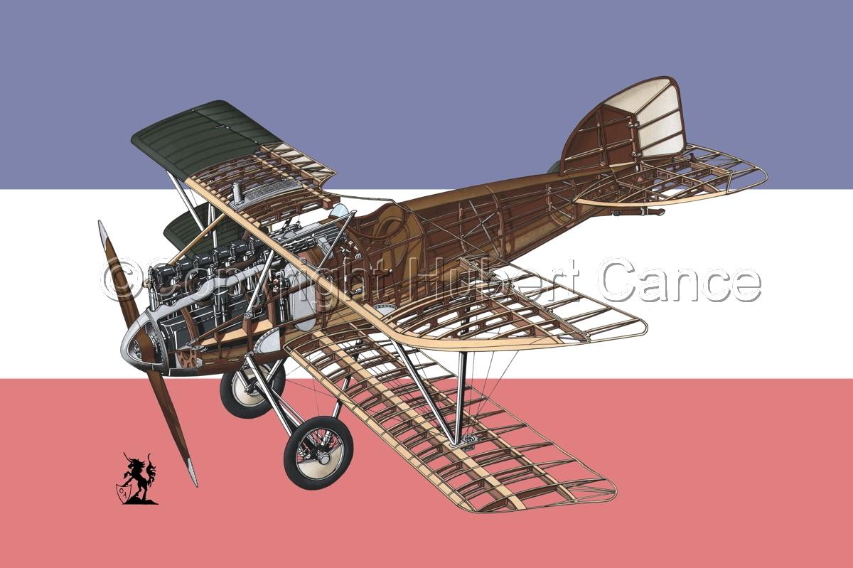 Albatros D.III (Flag #15) (large view)