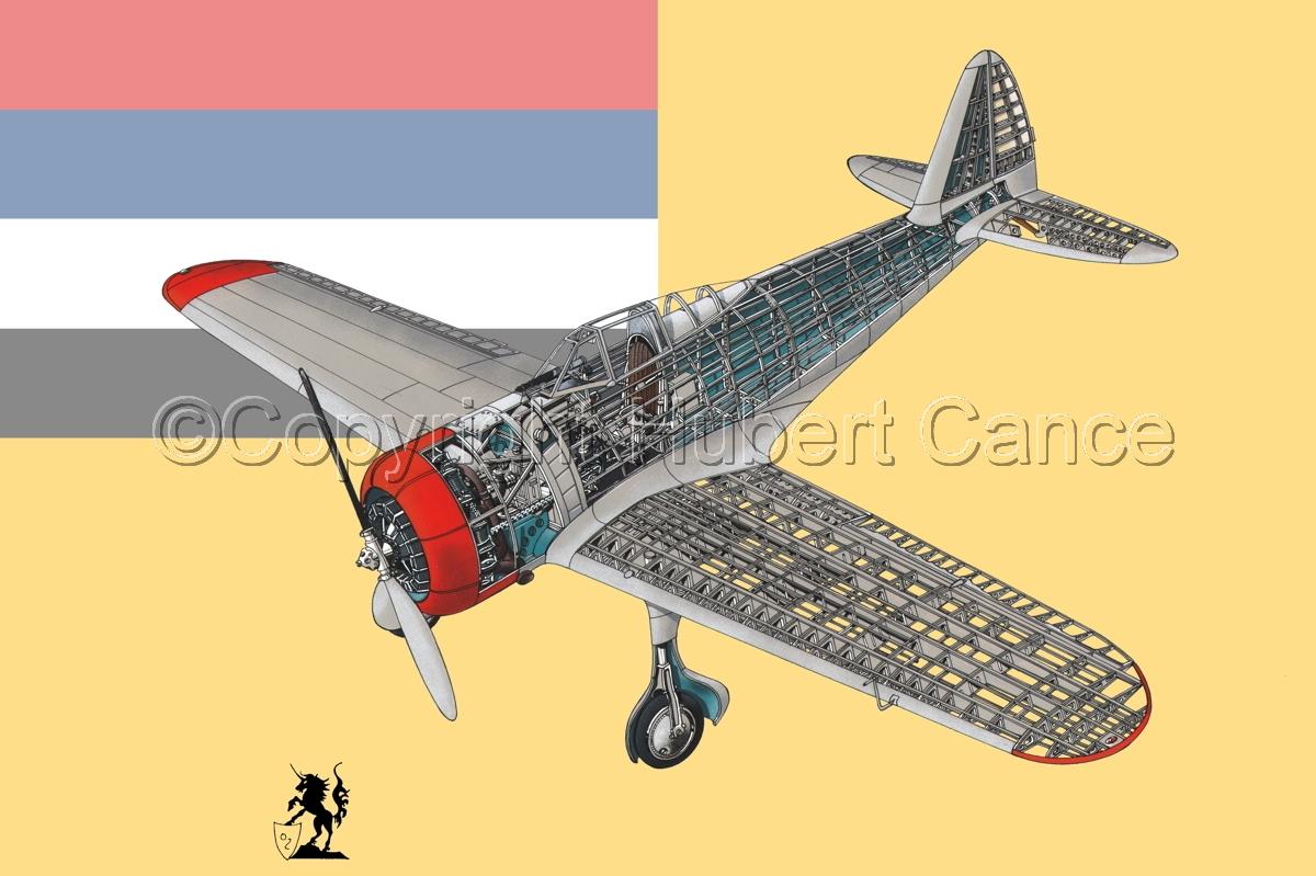 "Nakajima Ki.27 ""Nate"" (Flag #5) (large view)"