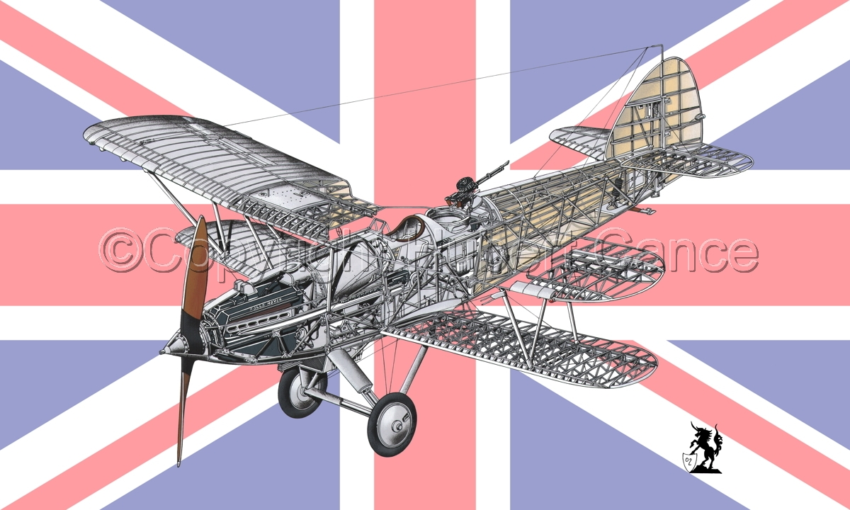 "Hawker ""Hart"" (Flag  #1) (large view)"