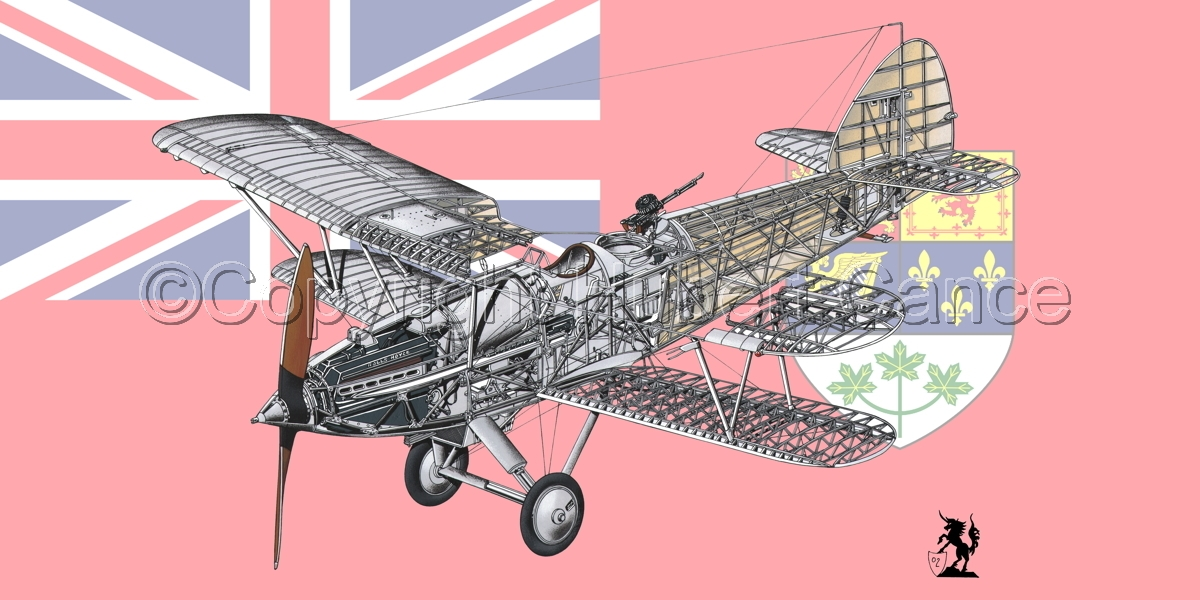"""Hawker """"Hart"""" (Flag  #3) (large view)"""