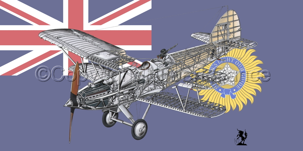 """Hawker """"Hart"""" (Flag  #4) (large view)"""