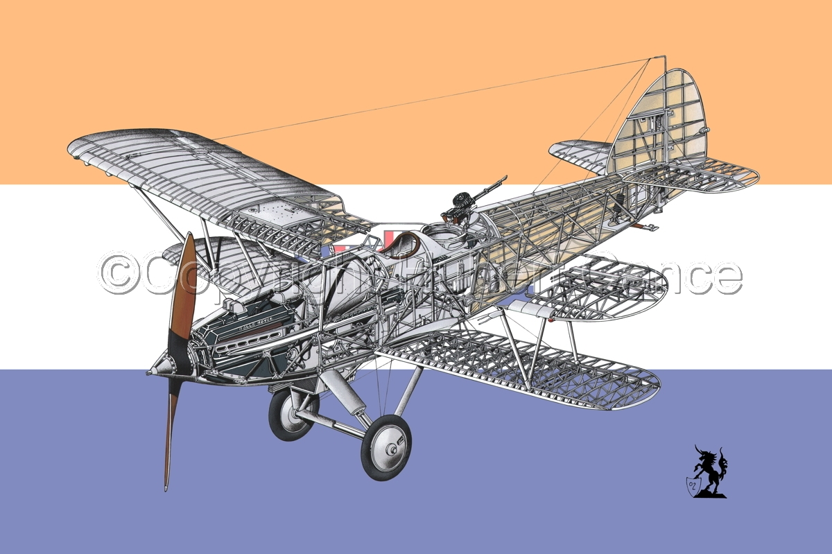"Hawker ""Hart"" (Flag  #6) (large view)"