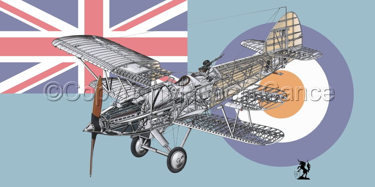 """Hawker """"Hart"""" (Flag  #7) (large view)"""