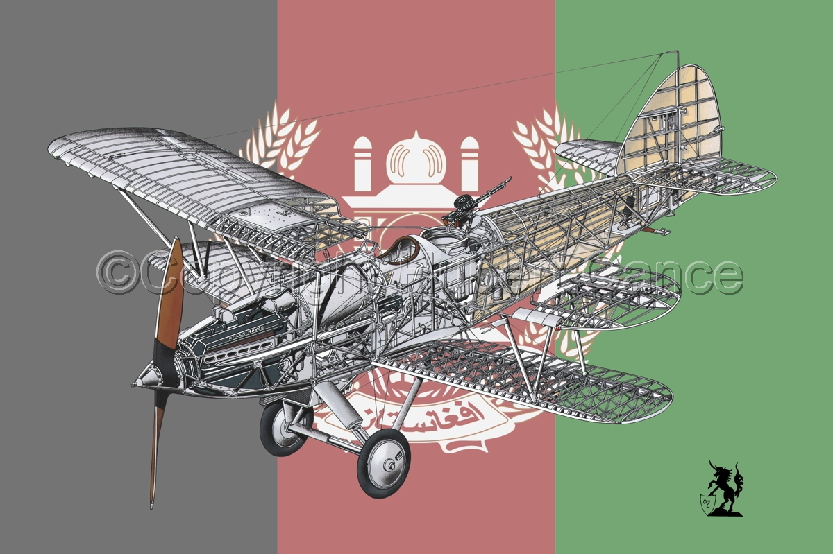 "Hawker ""Hart"" (Flag  #11) (large view)"