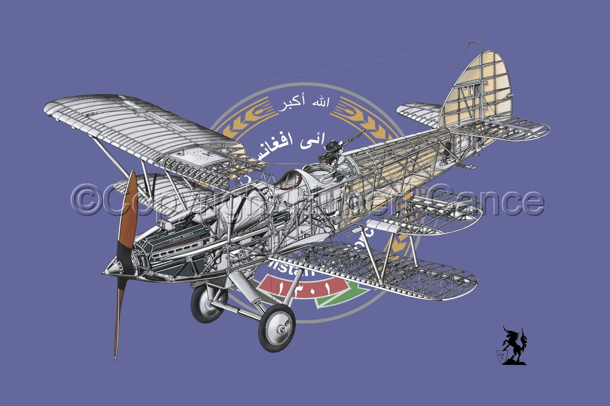 "Hawker ""Hart"" (Flag  #13) (large view)"