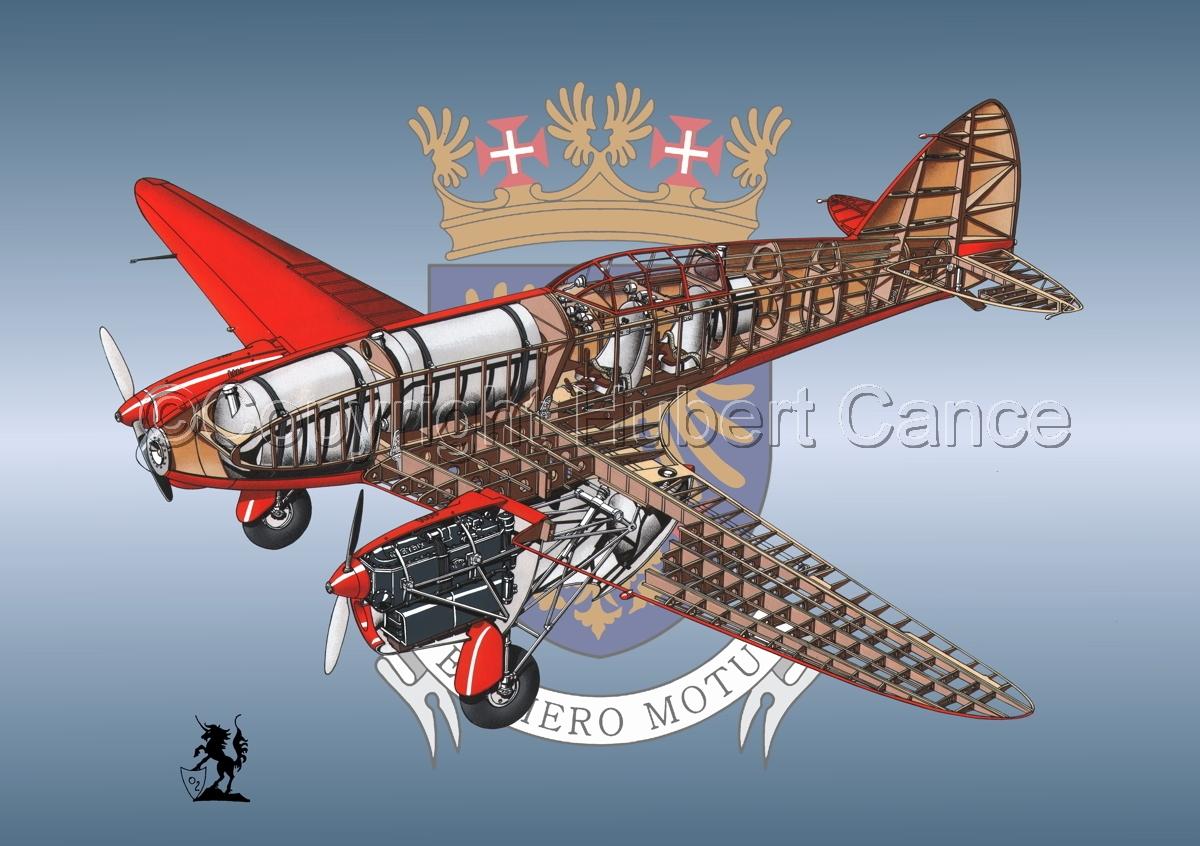 "De Havilland DH.88 ""Comet"" Racer (Insignia #1) (large view)"