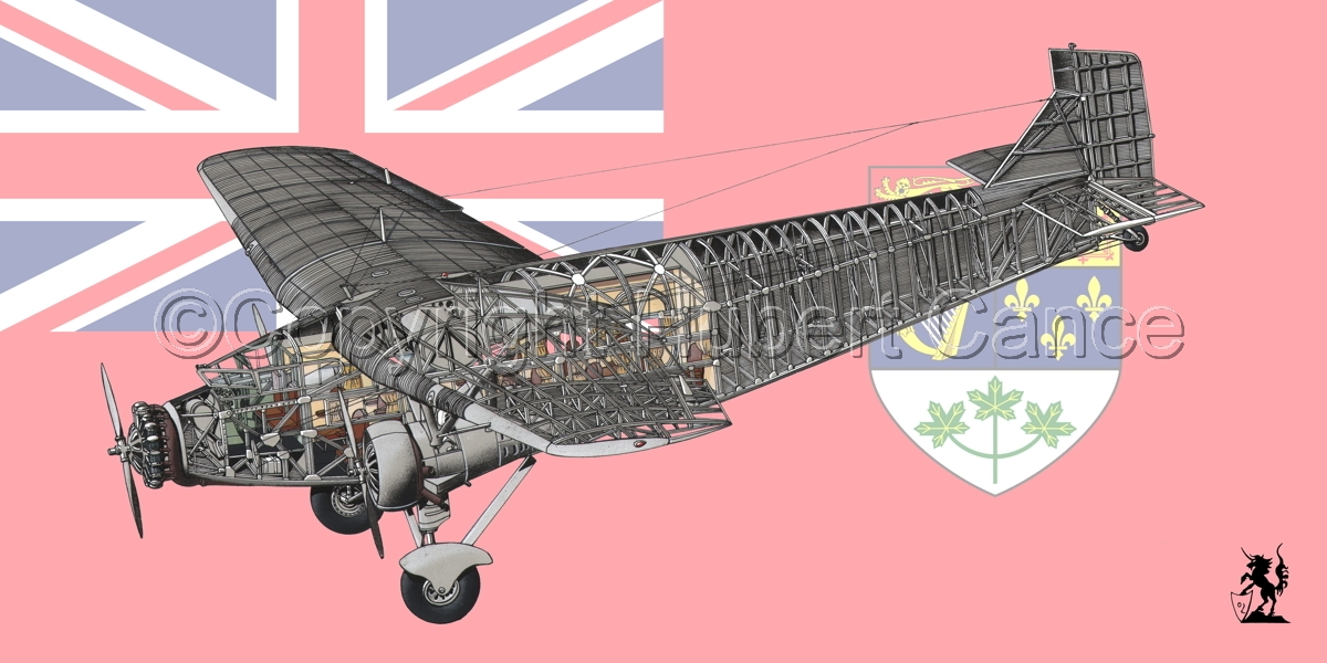 "Ford 5-AT-B ""Trimotor"" (Flag #5) (large view)"