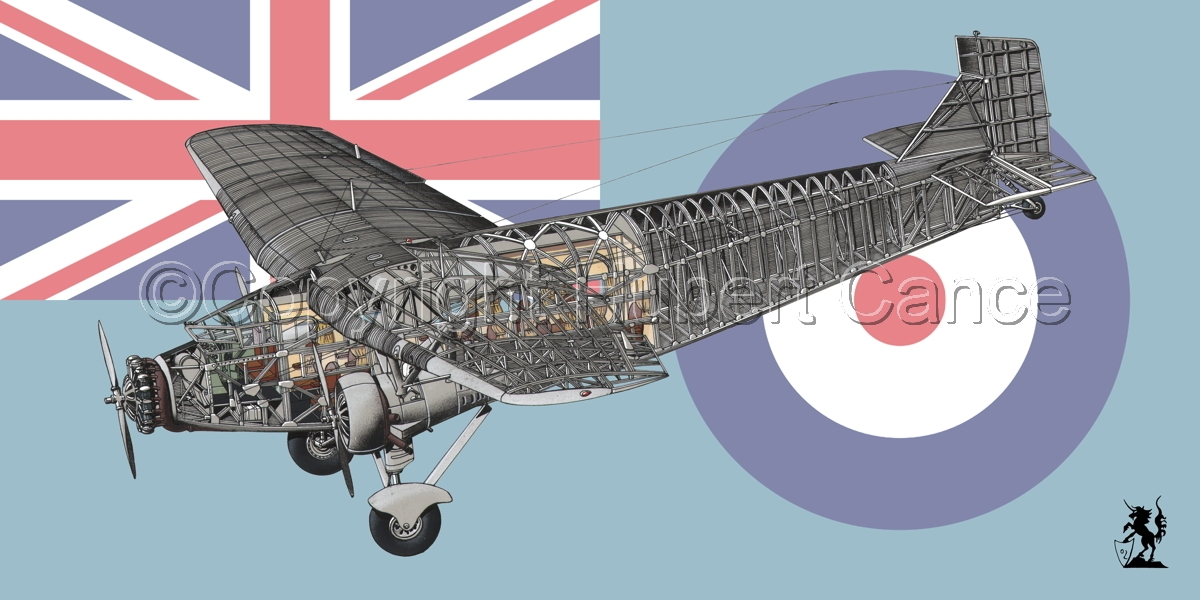 """Ford 5-AT-B """"Trimotor"""" (Flag #7) (large view)"""