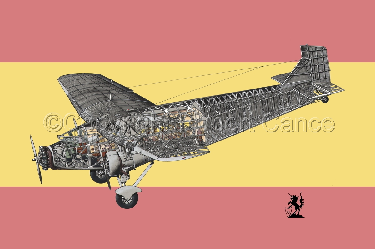 "Ford 5-AT-B ""Trimotor"" (Flag #18) (large view)"