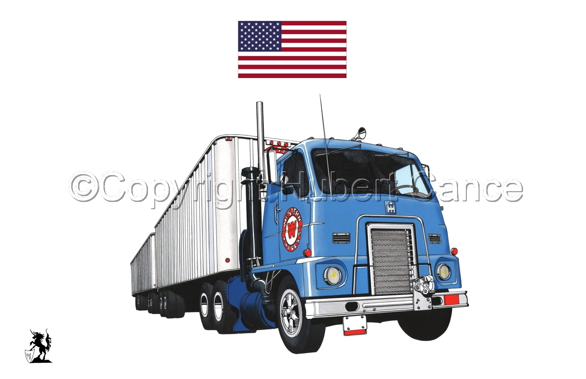 International IHC DCOF-405 Toll Road Tractor (1959) (Flag#1.1) (large view)