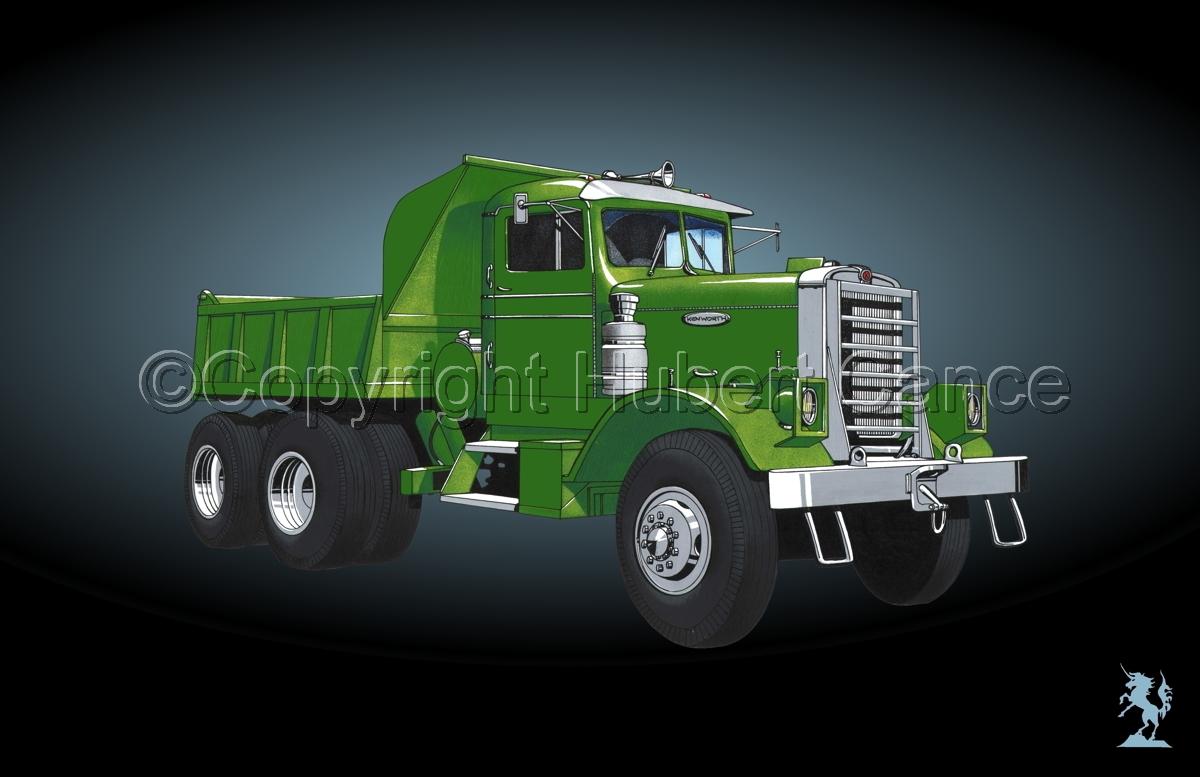 Kenworth Dump Truck #4 (large view)