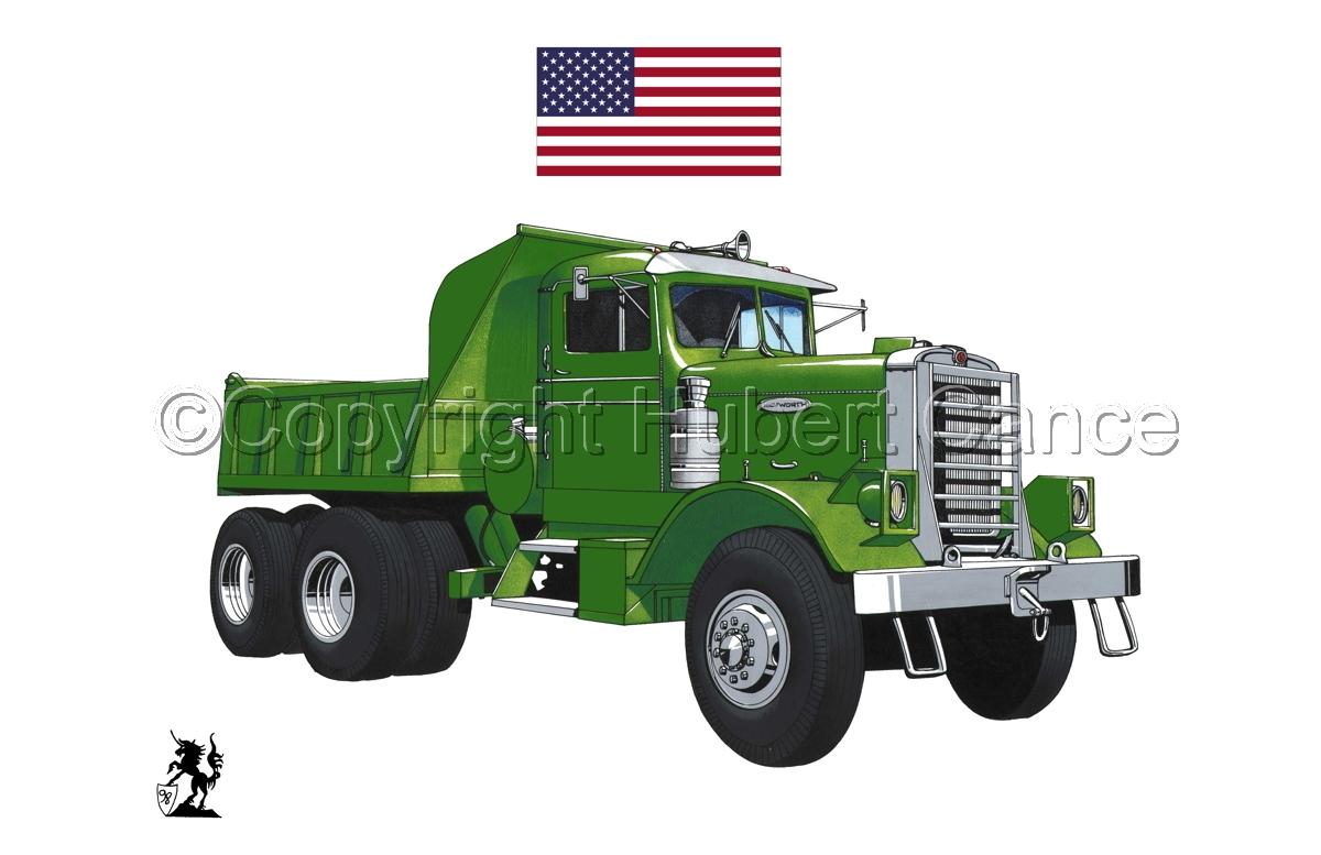 Kenworth Dump Truck (Flag #1.1) (large view)