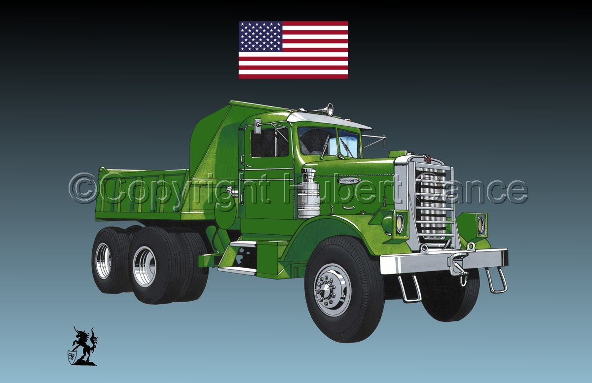 Kenworth Dump Truck (Flag #1.3) (large view)