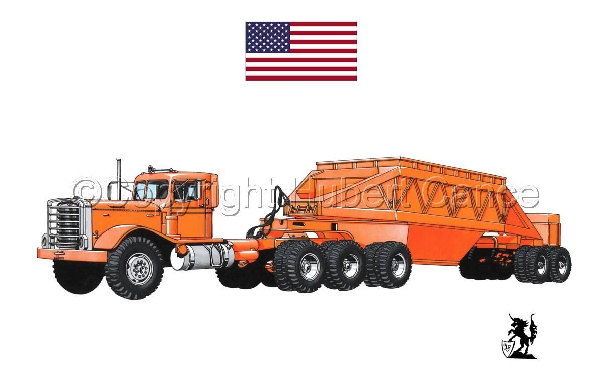 Kenworth Tractor & Dump Trailer (Flag #1.1) (large view)