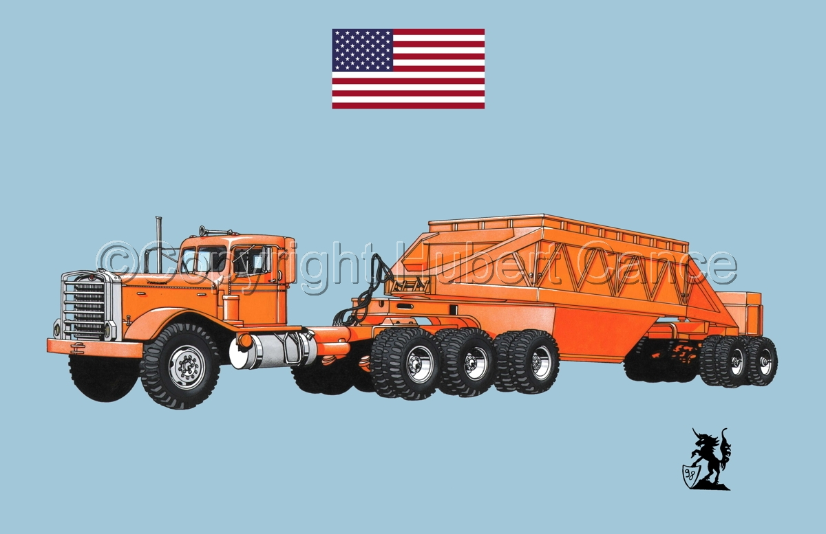 Kenworth Tractor & Dump Trailer (Flag #1.2) (large view)
