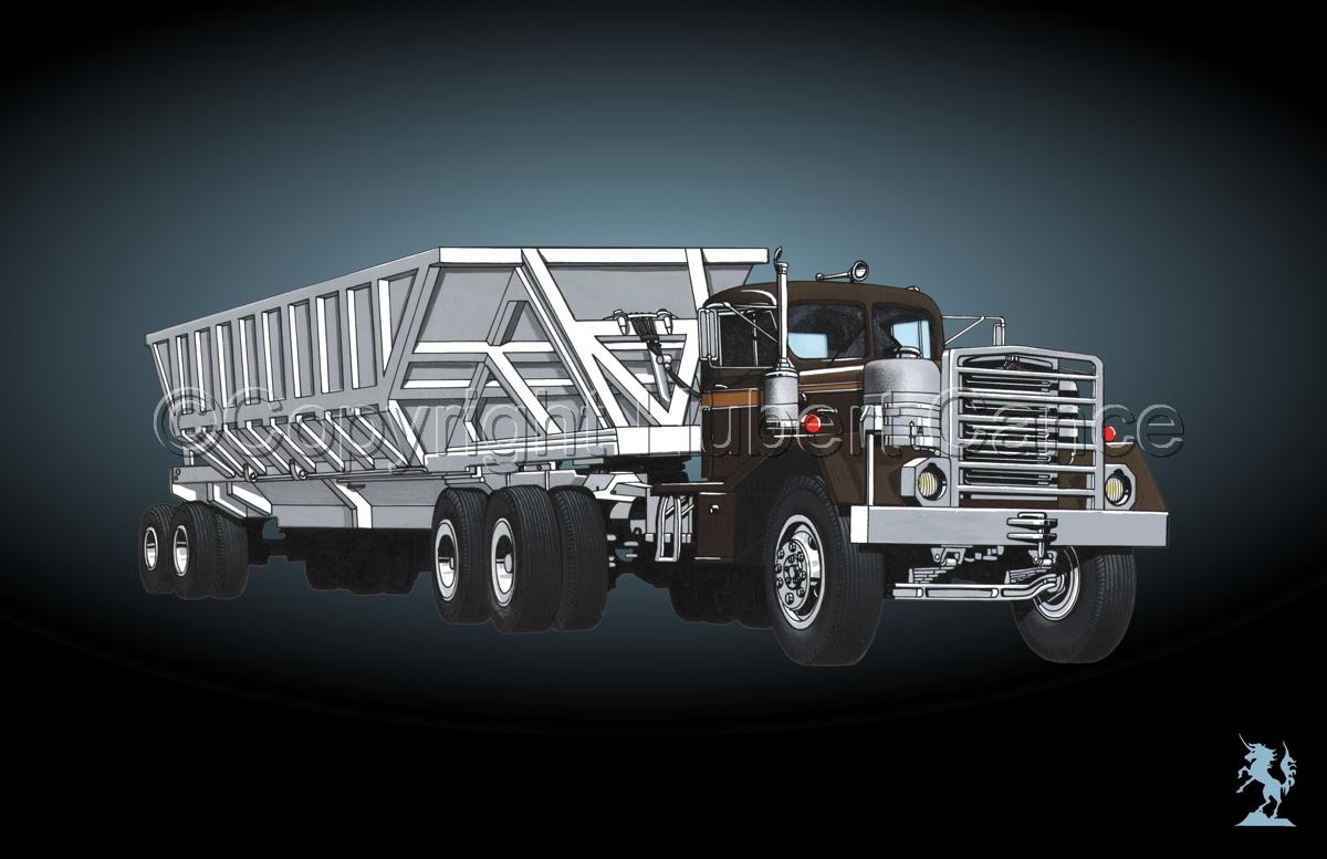 Kenworth Tractor & Dump Trailer #2.4 (large view)