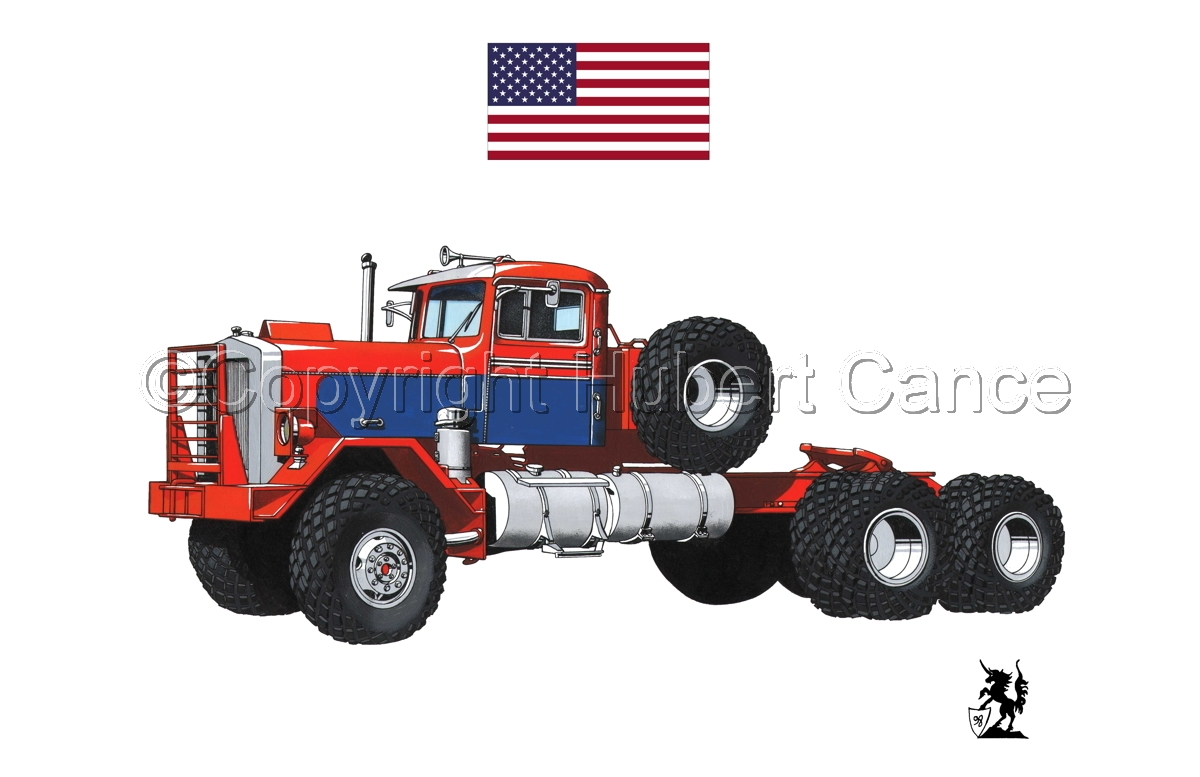 Kenworth Model 552 Tractor (Flag #1.1) (large view)