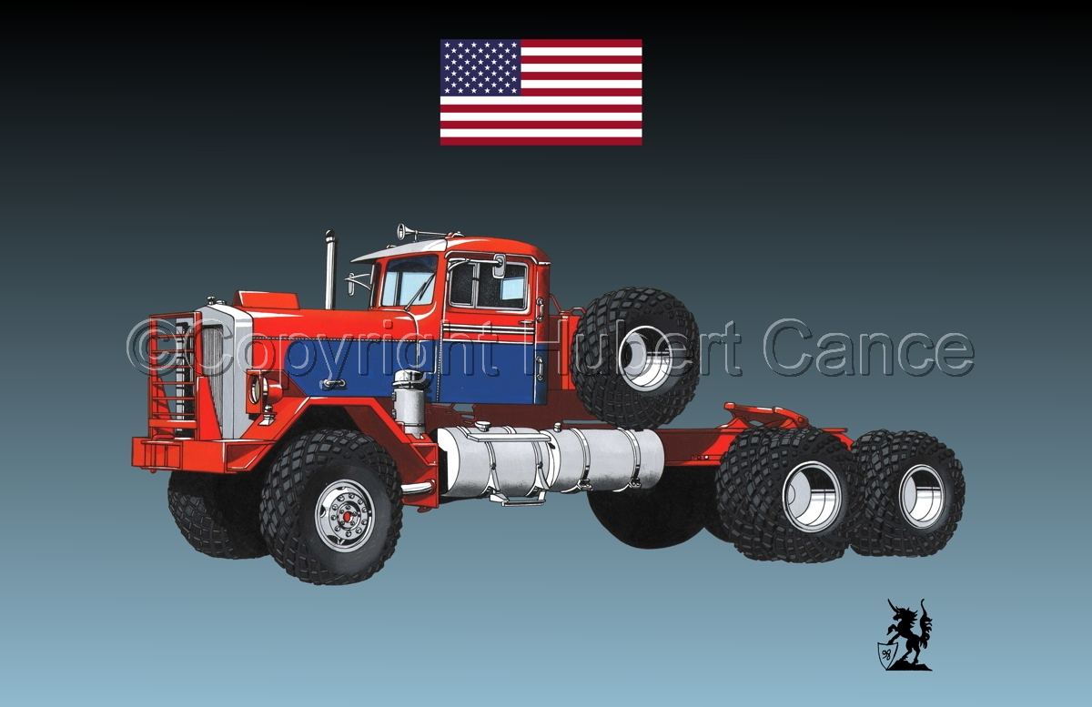 Kenworth Model 552 Tractor (Flag #1.3) (large view)