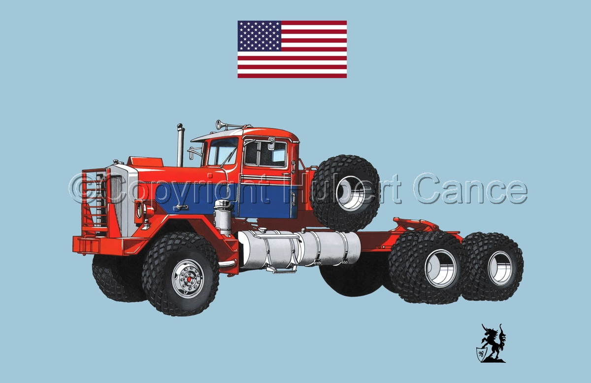 Kenworth Model 552 Tractor (Flag #1.2) (large view)