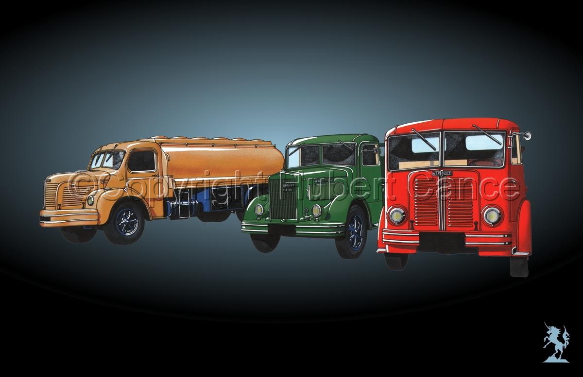 Berliet GLR8, GLB5 & GDC6W #4 (large view)