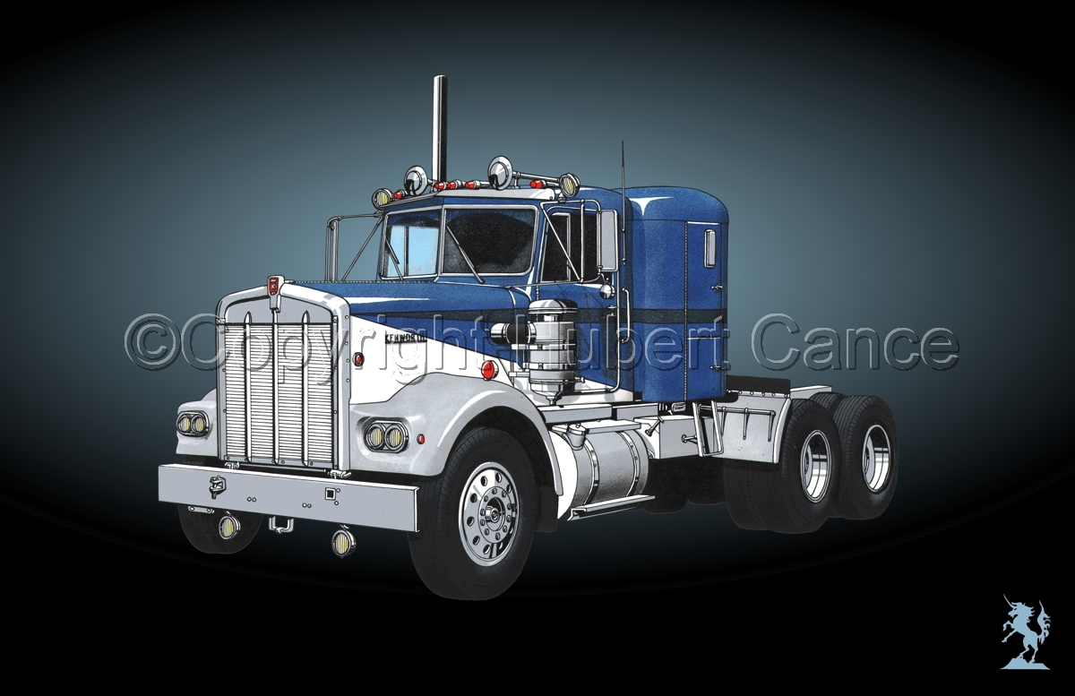 Kenworth W900 Tractor #4 (large view)