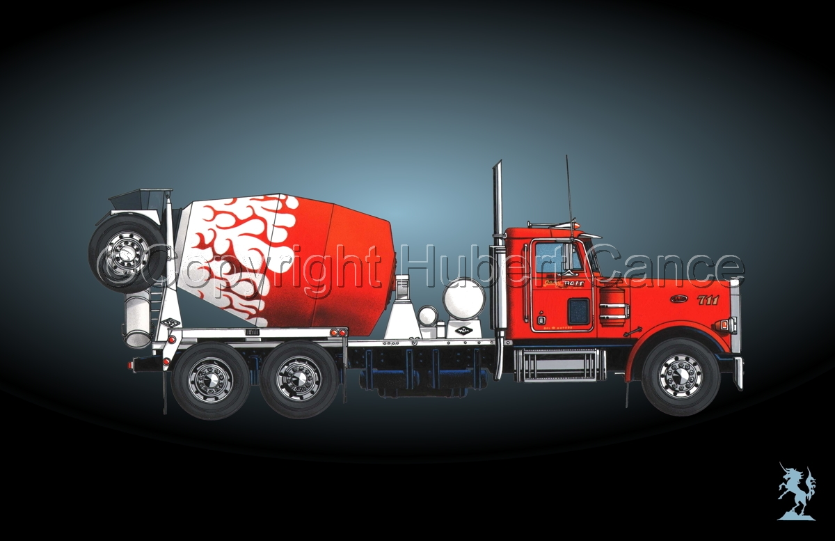 Peterbilt 357 Mixer #4 (large view)
