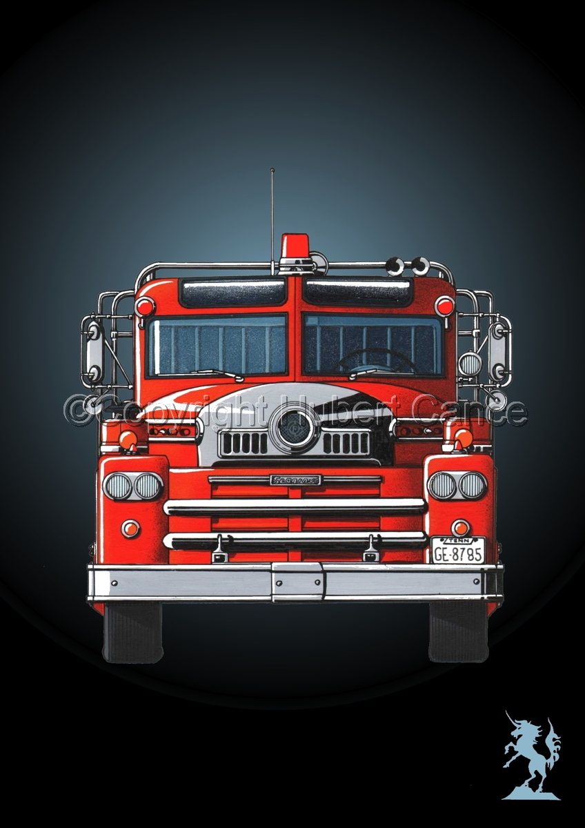 Seagrave 1958 Fire Truck #4 (large view)
