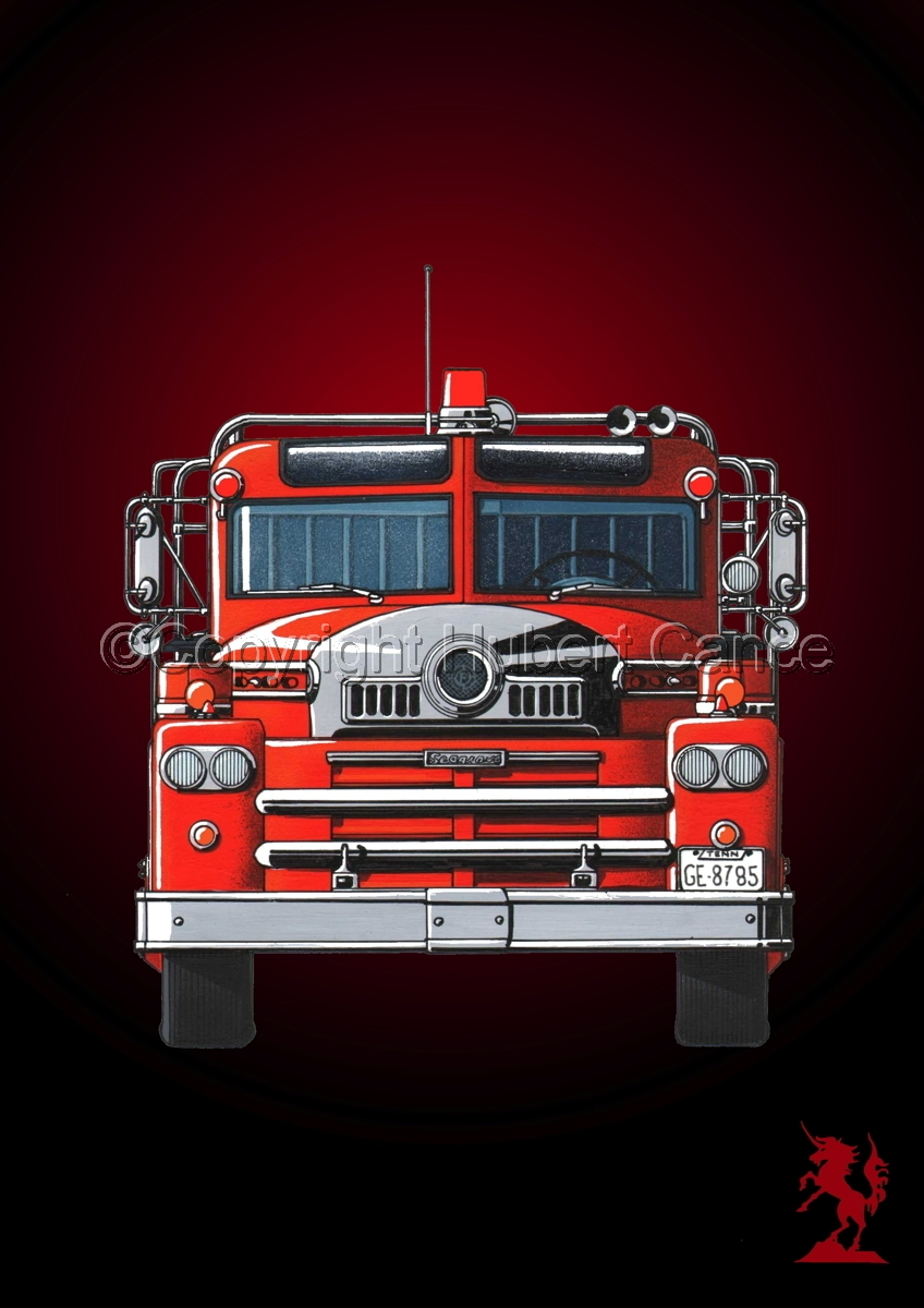 Seagrave 1958 Fire Truck #5 (large view)