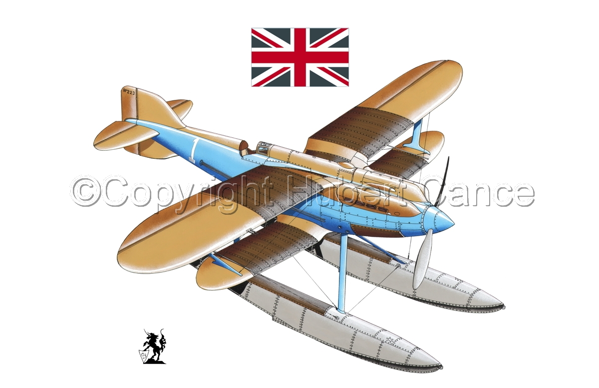 Gloster IVb Racer (Flag #1.1) (large view)