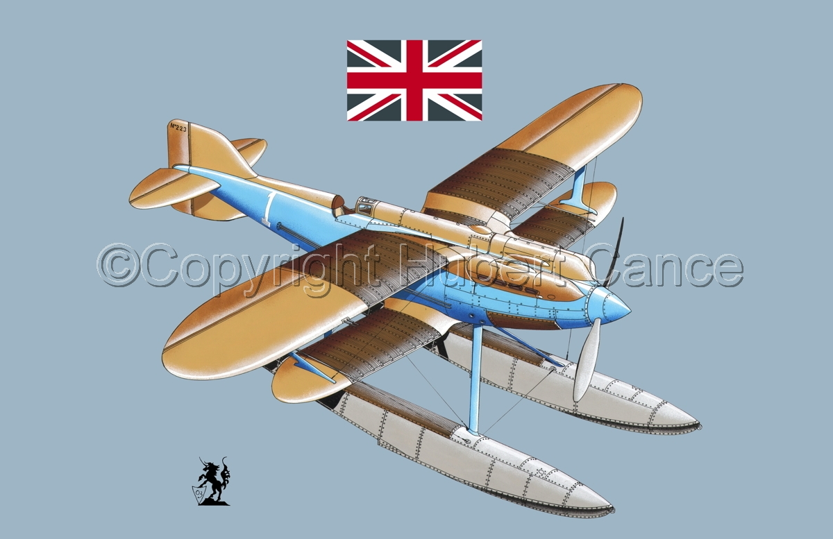 Gloster IVb Racer (Flag #1.2) (large view)