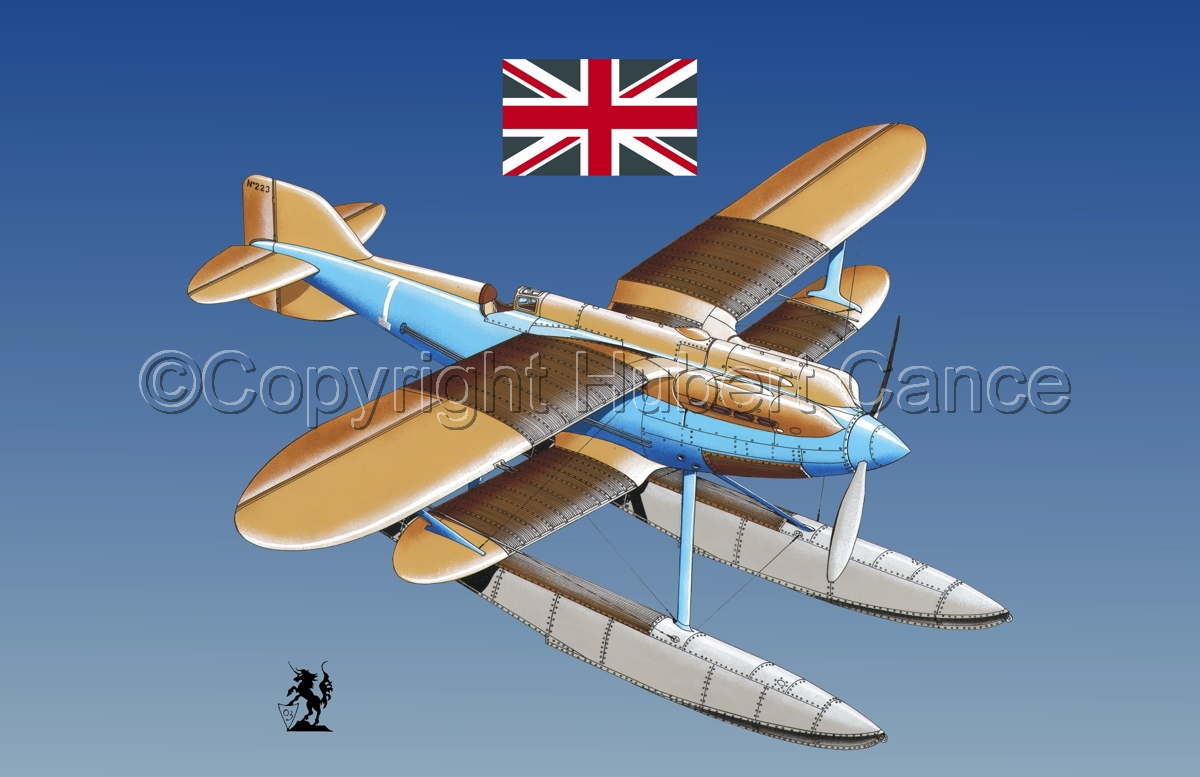 Gloster IVb Racer (Flag #1.3) (large view)