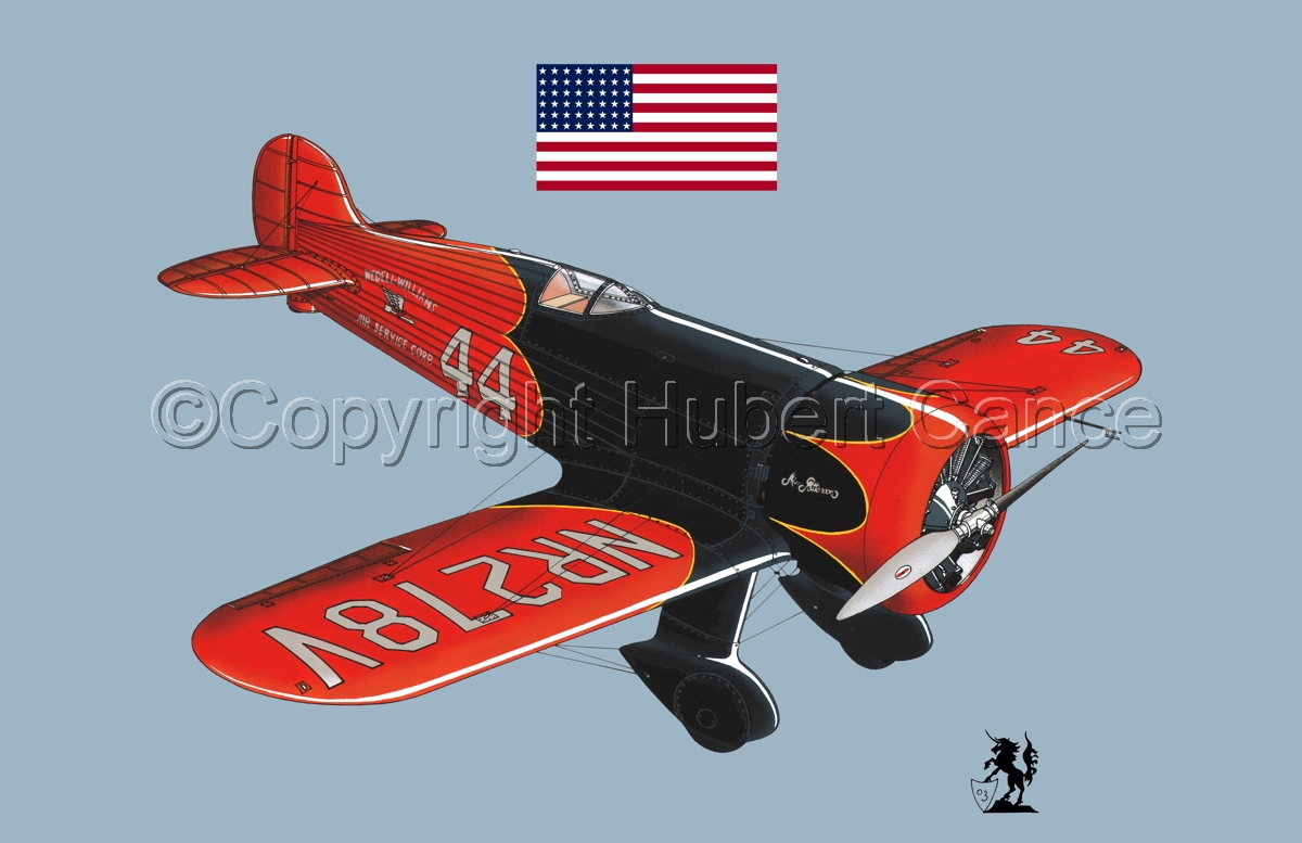Wedell Williams R44 Racer (Flag #1.2) (large view)