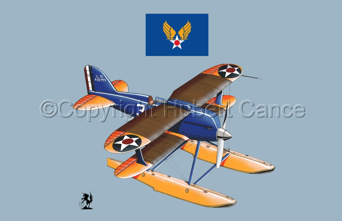 Curtiss R3C2 Army Racer (Flag #2.2) (large view)