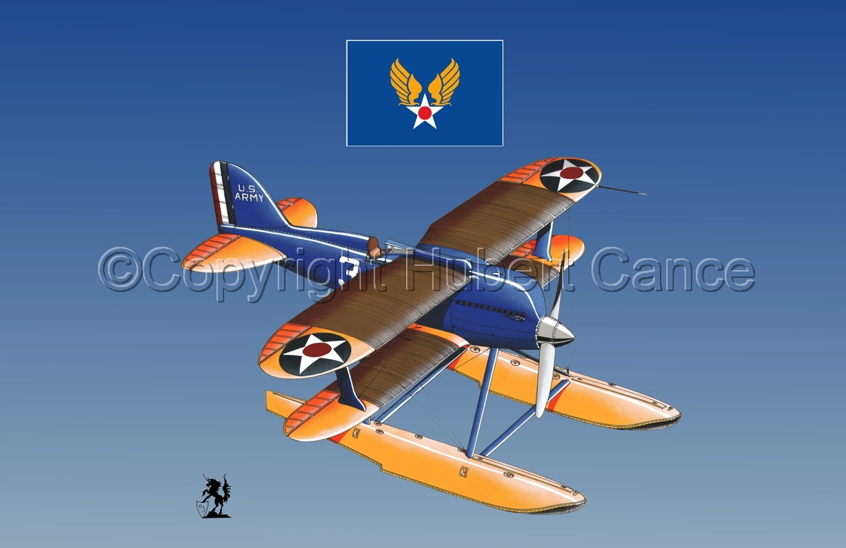 Curtiss R3C2 Army Racer (Flag #2.3) (large view)