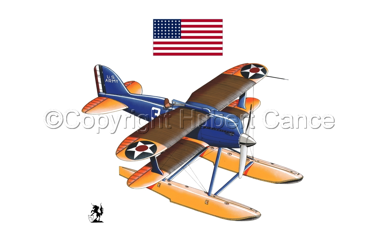 Curtiss R3C2 Army Racer (Flag #1.1) (large view)