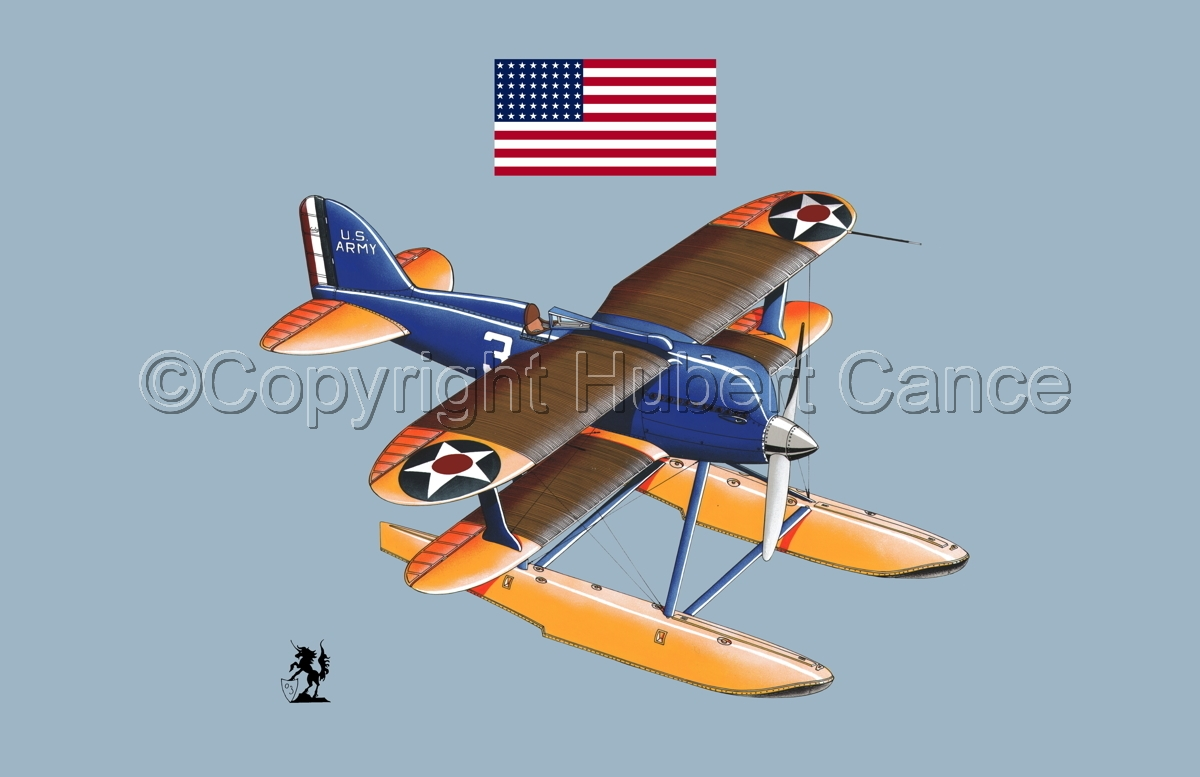 Curtiss R3C2 Army Racer (Flag #1.2) (large view)