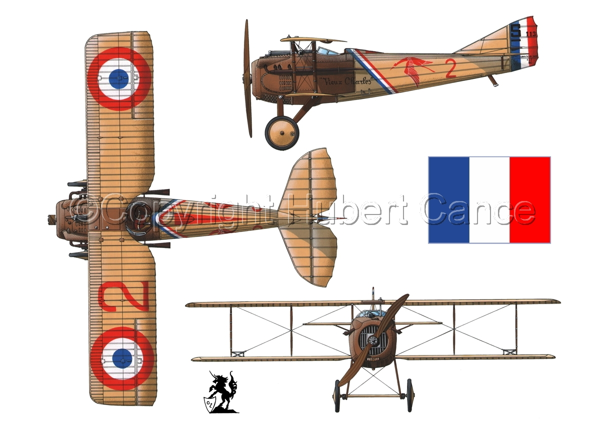 "SPAD VII ""Guynemer"" (Flag #1.1) (large view)"
