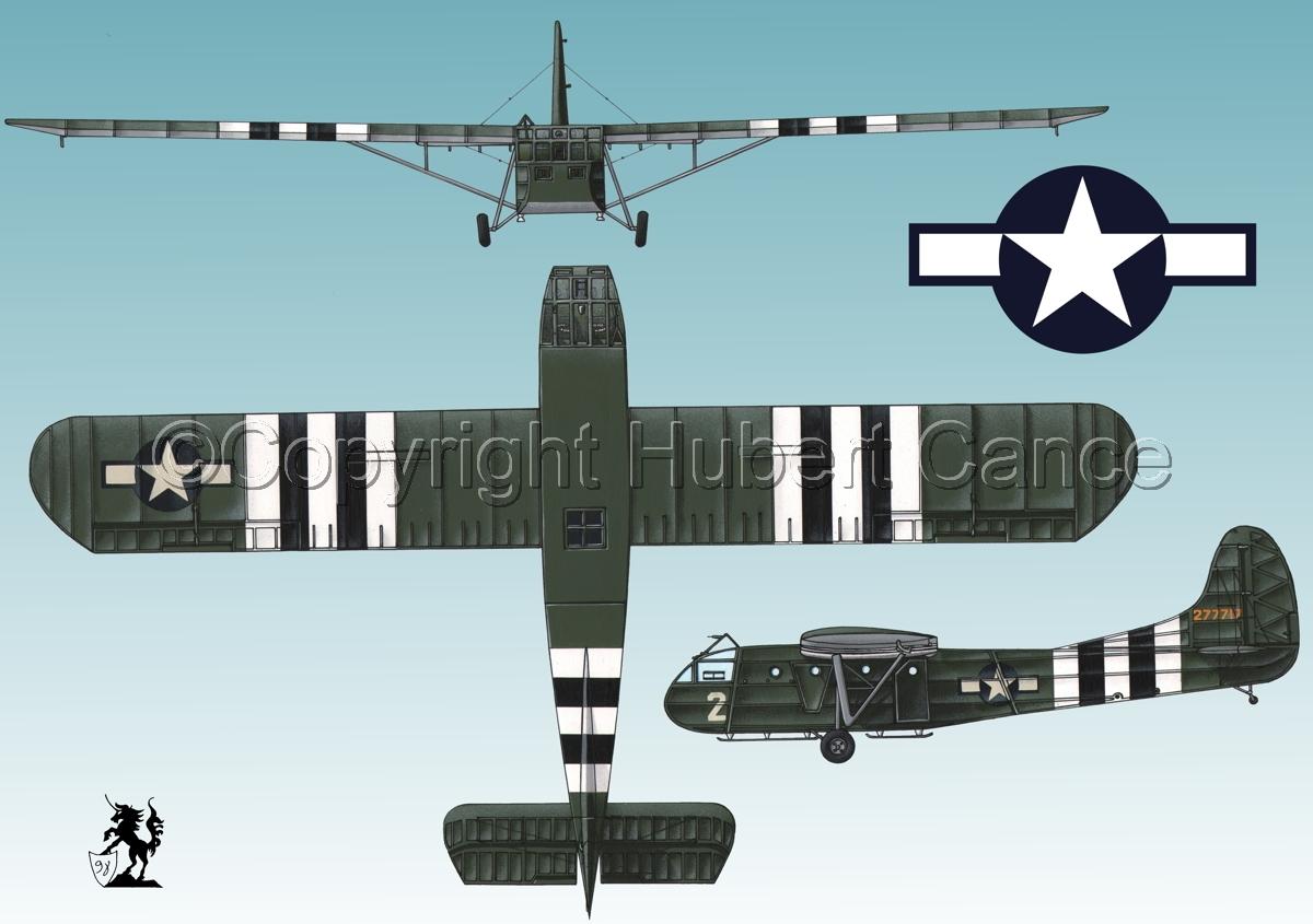 "Waco CG-4A ""Hadrian"" (Roundel #1.3) (large view)"