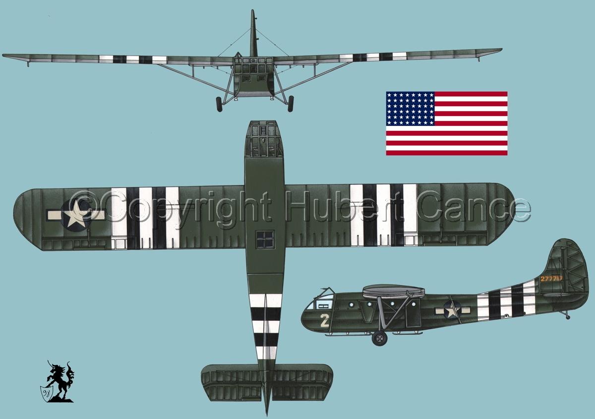 """Waco CG-4A """"Hadrian"""" (Flag #1.2) (large view)"""