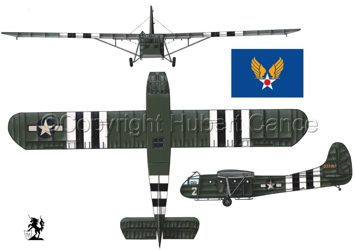 """Waco CG-4A """"Hadrian"""" (Flag #2.1) (large view)"""