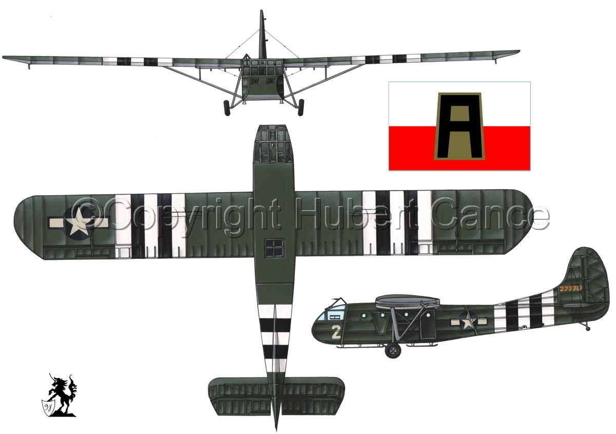 """Waco CG-4A """"Hadrian"""" (Flag #4.1) (large view)"""